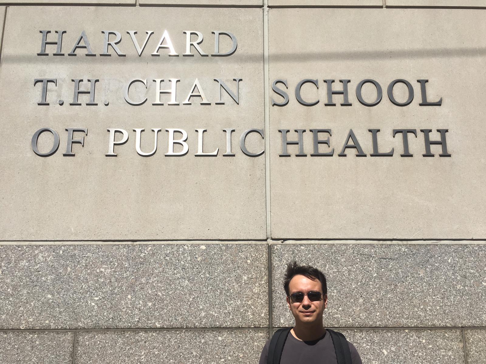 Sander visiting scientist Harvard University